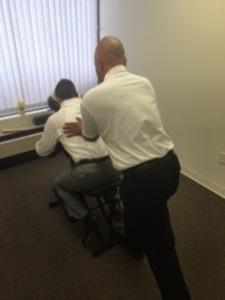 Chair Massage 4